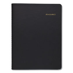 At-A-Glance Monthly Planner, 11 x 9, Black, 2021-2022