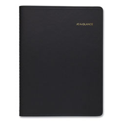 At-A-Glance Weekly Planner Ruled for Open Scheduling, 8.75 x 6.75, Black, 2022