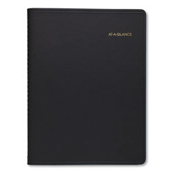 At-A-Glance Weekly Appointment Book Ruled, Hourly Appts, 8.75 x 7, Black, 2022-2023