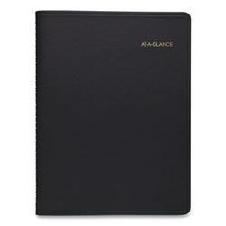 At-A-Glance Weekly Appointment Book, Academic, 11 x 8.25, Black, 2021-2022