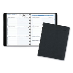 At-A-Glance The Action Planner Weekly Appointment Book, 11 x 8, Black, 2022