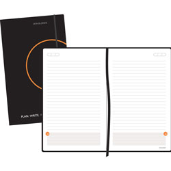 At-A-Glance Plan. Write. Remember. Perfect-Bound Planning Notebook, 8 1/4 x 5, Black