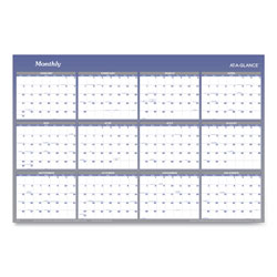 At-A-Glance Vertical/Horizontal Erasable Wall Planner, 32 x 48, 2021