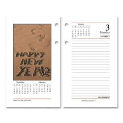 At-A-Glance Photographic Desk Calendar Refill, 3.5 x 6, 2021