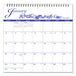 At-A-Glance 12-Month Illustrator's Edition Wall Calendar, 12 x 12, Illustrations, 2021