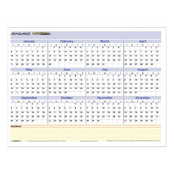 At-A-Glance QuickNotes Mini Erasable Wall Planner, 16 x 12, 2021
