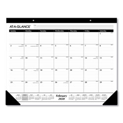 At-A-Glance Ruled Desk Pad, 22 x 17, 2022