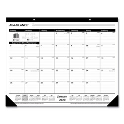 At-A-Glance Ruled Desk Pad, 24 x 19, 2022