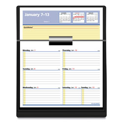 At-A-Glance Flip-A-Week Desk Calendar Refill with QuickNotes, 7 x 6, White, 2021