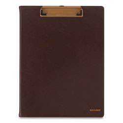 At-A-Glance Signature Collection Monthly Clipfolio, 11 x 8, Distressed Brown, 2021