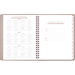 At-A-Glance Signature Collection Weekly/Monthly Planner, 8 3/4 x 11, Gray/Olive, 2020