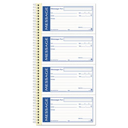 Adam Write 'n Stick Phone Message Pad, 2 3/4 x 4 3/4, Two-Part Carbonless, 200 Forms