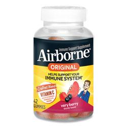 Airborne® Immune Support Gummies, Very Berry, 42/Bottle