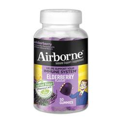 Airborne® Immune Support Gummies with Elderberry, 50/Bottle