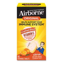 Airborne® Immune Support Chewable Tablet, Citrus, 96 Count