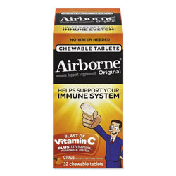 Airborne® Immune Support Chewable Tablets, 32 Tablets per box