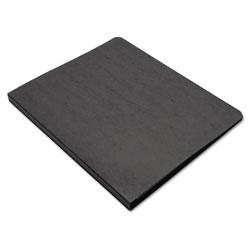 Wilson Jones PRESSTEX Grip Binder, Clamp System, 0.63 in Capacity, 11 x 8.5, Black