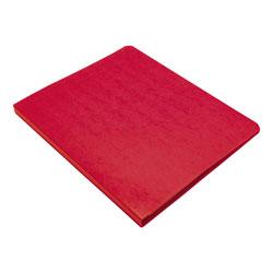 Wilson Jones PRESSTEX Grip Binder, Clamp System, 0.63 in Capacity, 11 x 8.5, Executive Red