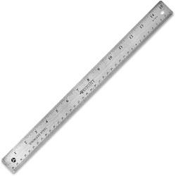 "Westcott® 15"" Stainless Steel Ruler"