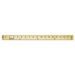 Westcott® Wood Yardstick with Metal Ends, 36 in
