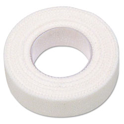 Physicians Care First Aid Adhesive Tape, 1/2 in x 10yds, 6 Rolls/Box