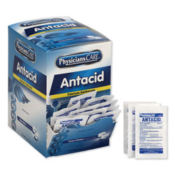 Physicians Care Antacid Calcium Carbonate Medication, Two-Pack, 50 Packs/Box