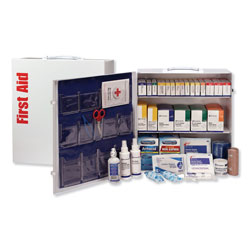 First Aid Only ANSI 2015 Class A+ Type Iⅈ Industrial First Aid Kit 100 People, 676 Pieces