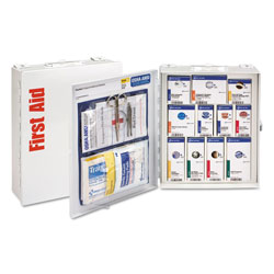 First Aid Only ANSI 2015 SmartCompliance First Aid Station Class A, No Meds,25 People,94 Pieces