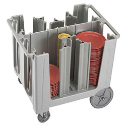 Cambro Adjustable Dish Caddy S-Series Speckled Gray