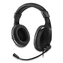 Adesso Xtream H5 Multimedia Headset with Mic, Binaural Over the Head, Black