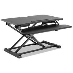 Alera AdaptivErgo Sit-Stand Workstation, 31.5w x 26.13d x 19.88h, Black