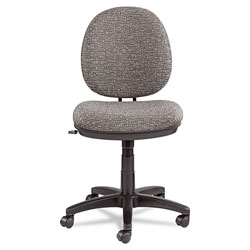 Alera Interval Series Swivel/Tilt Task Chair, Supports up to 275 lbs, Graphite Gray Seat/Graphite Gray Back, Black Base