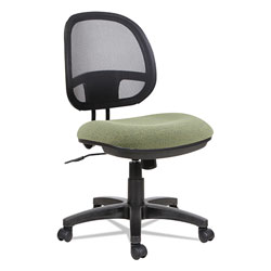 Alera Interval Series Swivel/Tilt Mesh Chair, Supports up to 275 lbs, Parrot Green Seat/Parrot Green Back, Black Base