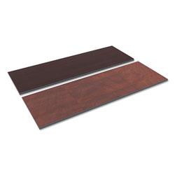 Alera Reversible Laminate Table Top, Rectangular, 71 1/2w x 23 5/8,Med Cherry/Mahogany