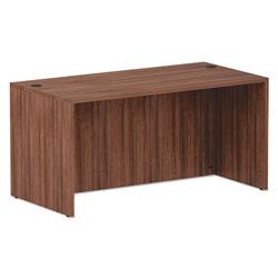 Alera Valencia Series Straight Front Desk Shell, 59.13w x 29.5d x 29.63h, Modern Walnut