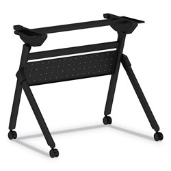 Alera Flip and Nest Table Base, 32 1/4w x 23 5/8d x 28 1/2h, Black