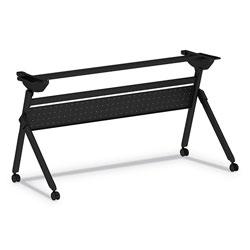 Alera Flip and Nest Table Base, 55 7/8w x 23 5/8d x 28 1/2h, Black