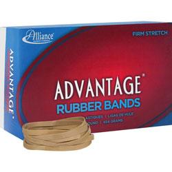 """Alliance Rubber Rubber Bands, Size 64, 1 lb., 3 1/2"""" x 1/4"""", Advantage"""
