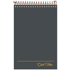 Ampad Gold Fibre Steno Books, Gregg Rule, Gray Cover, 6 x 9, 100 White Sheets