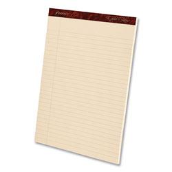 Ampad Gold Fibre Retro Writing Pads, Wide/Legal Rule, 8.5 x 11.75, Antique Ivory, 50 Sheets, Dozen