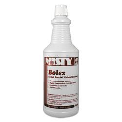 Misty Bolex 23 Percent Hydrochloric Acid Bowl Cleaner, Wintergreen, 32oz, 12/Carton