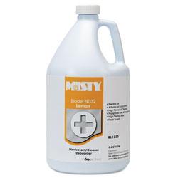 Misty BIODET ND-32, Lemon, 1gal Bottle, 4/Carton