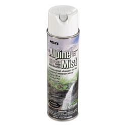 Misty Hand-Held Odor Neutralizer, Alpine Mist, 10 oz Aerosol, 12/Carton