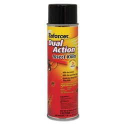 Enforcer Dual Action Insect Killer, For Flying/Crawling Insects, 17 oz Aerosol