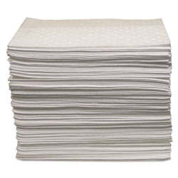 Anchor Oil Only Sorbent Pad 15 inx17 in, Heavy-Weight
