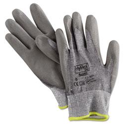 Ansell HyFlex 627 Light-Duty Gloves, Size 8, Dyneema/Lycra/Polyurethane, GY, 12 Pairs