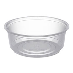 Anchor Packaging MicroLite Deli Tub, 8 oz, Clear, 500/Carton