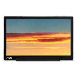 AOC International Ltd 1601C Portable LCD Monitor, 15.6 in Widescreen, IPS Panel, 1920 Pixels x 1080 Pixels