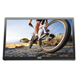 AOC International Ltd USB Powered LCD Monitor,16 in, 16:9 Aspect Ratio
