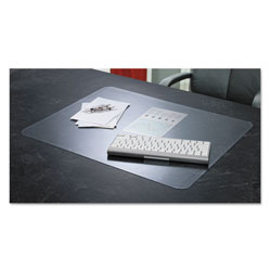 Artistic Office Products KrystalView Desk Pad with Antimicrobial Protection, 24 x 19, Matte Finish, Clear